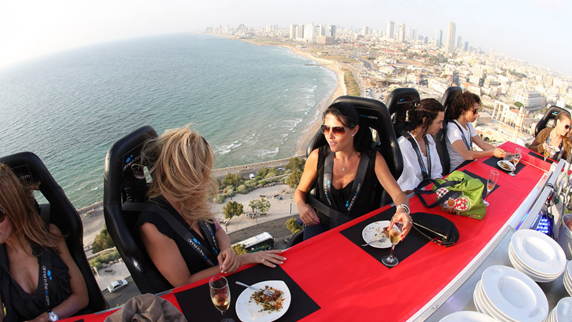 Dinner in the Sky Jaffa