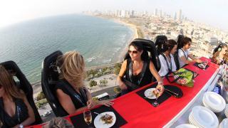 Dinner in the Sky Jaffa